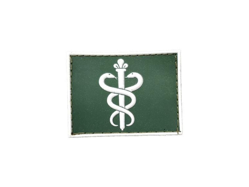34d44bac86968 Dentista Gola Exército emborrachado verde com branco – Bordaki