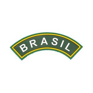 Tarjeta Brasil emborrachada braço colorida