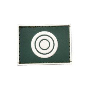 CPOR/NPOR Gola Exército emborrachado verde com branco