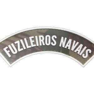 Tarjeta Fuzileiros Navais emborrachada camuflada com cinza