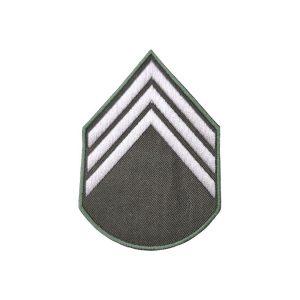 Divisa 3º Sargento, Verde