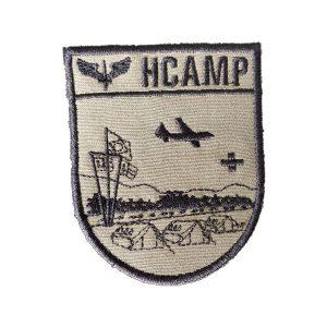 HCAMP verde, DOM bordado