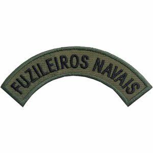 Tarjeta Fuzileiros Navais bordada